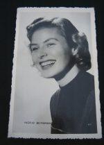Vintage Postcard Ingrid Bergman