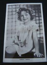 Vintage Postcard Shirley Temple