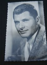 Vintage Postcard Dewey Martin