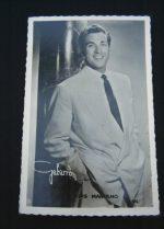 Vintage Postcard Luis Mariano