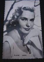 Vintage Postcard Elaine Aiken