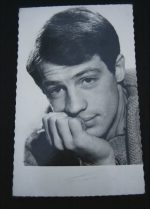 Vintage Postcard Paul Belmondo