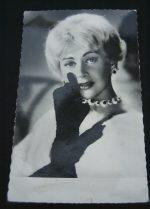 Vintage Postcard Martine Carol