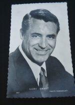 Vintage Postcard Cary Grant