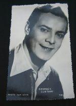 Vintage Postcard Georges Guetary