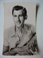 Vintage Postcard Stewart Granger