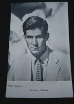 Vintage Postcard Anthony Perkins