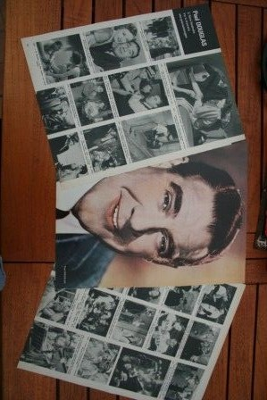Vintage Clippings Paul Douglas Lot Of Pics !