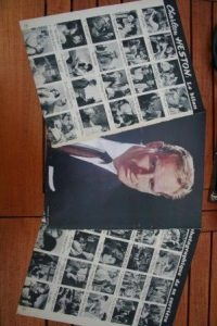 Vintage Clippings Charlton Heston Lot Of Pics !