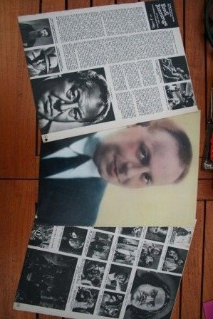Vintage Clippings Emil Jannings Lot Of Pics !