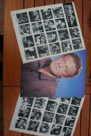Vintage Clippings Van Heflin Lot Of Pics !