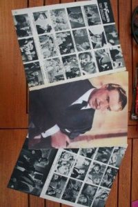 Vintage Clippings Victor Francen Lot Of Pics !