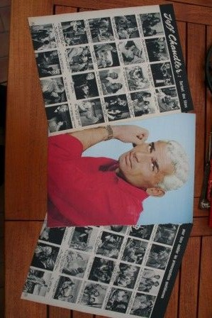 Vintage Clippings Jeff Chandler Lot Of Pics !