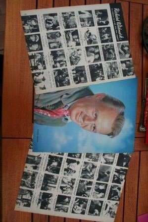 Vintage Clippings Richard Widmark Lot Of Pics !