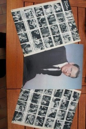 Vintage Clippings Frank Sinatra Lot Of Pics !