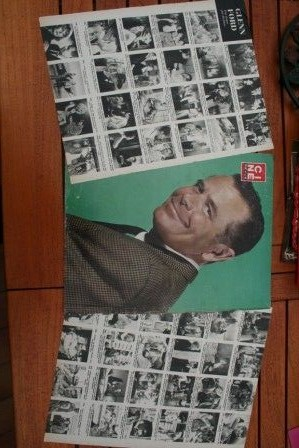 Vintage Clippings Glenn Ford Lot Of Pics !