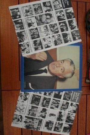 Vintage Clippings Vittorio De Sica Lot Of Pics !