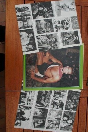 Vintage Clippings Steve Reeves Lot Of Pics !