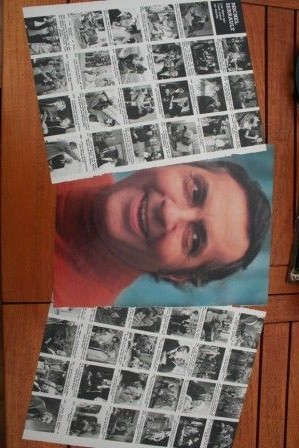 Vintage Clippings Michel Serrault Lot Of Pics !