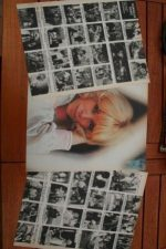 Vintage Clippings Mireille Darc Lot Of Pics !
