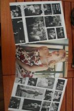 Vintage Clippings Estella Blain Lot Of Pics !