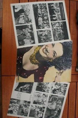 Vintage Clippings Carmen Miranda Lot Of Pics !