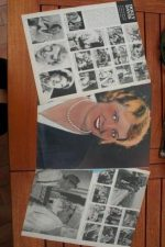 Vintage Clippings Dolly Davis Lot Of Pics !