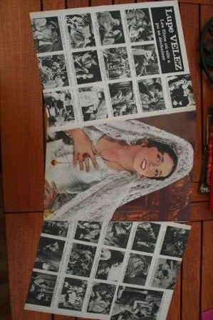 Vintage Clippings Lupe Velez Lot Of Pics !
