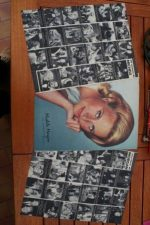 Vintage Clippings Michele Morgan Lot Of Pics !