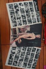 Vintage Clippings Lana Turner Lot Of Pics !