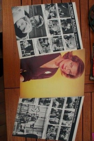 Vintage Clippings Lauren Bacall Lot Of Pics !