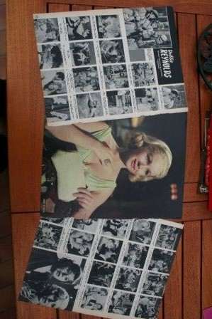 Vintage Clippings Debbie Reynolds Lot Of Pics !
