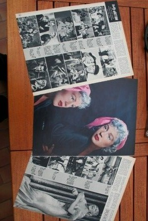 Vintage Clippings Betty Hutton Lot Of Pics !