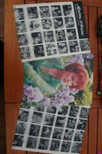 Vintage Clippings Maureen O'Hara Lot Of Pics !
