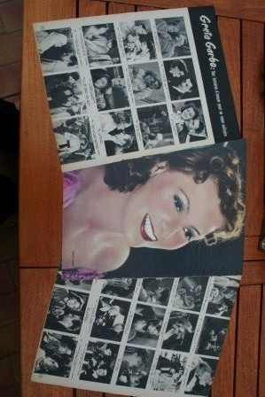 Vintage Clippings Greta Garbo Lot Of Pics !