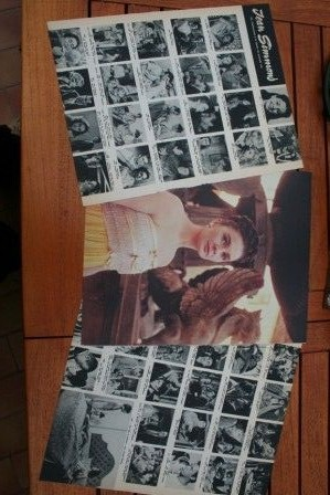 Vintage Clippings Jean Simmons Lot Of Pics !