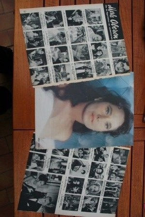 Vintage Clippings Merle Oberon Lot Of Pics !