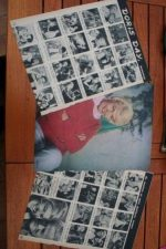 Vintage Clippings Doris Day Lot Of Pics !