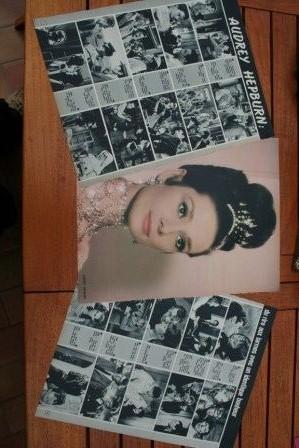Vintage Clippings Audrey Hepburn Lot Of Pics !