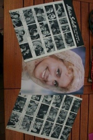 Vintage Clippings Maria Schell Lot Of Pics !