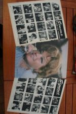 Vintage Clippings Simone Signoret Lot Of Pics !