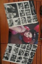 Vintage Clippings Pier Angeli Lot Of Pics !