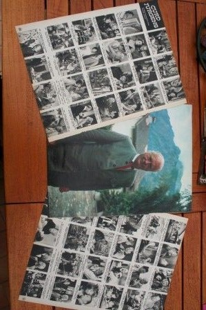 Vintage Clippings Curd Jurgens Lot Of Pics !