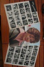 Vintage Clippings Ida Lupino Lot Of Pics !