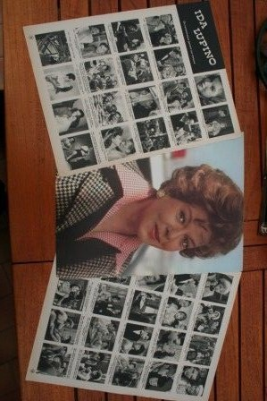 Vintage Clippings Ida Lupino Lot Of Pics !