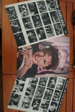 Vintage Clippings Judy Garland Lot Of Pics !