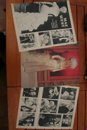 Vintage Clippings Mae West Lot Of Pics !