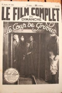 1925 Le Coup De Grisou Photo Novel