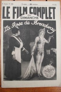1925 Mae Murray Monte Blue Raymond Bloomer Broadway