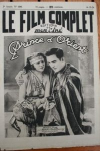 1924 Sessue Hayakawa Lillian Hall Arabian Knight
